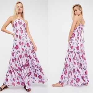 Free People Garden Party Maxi Dress Lavender